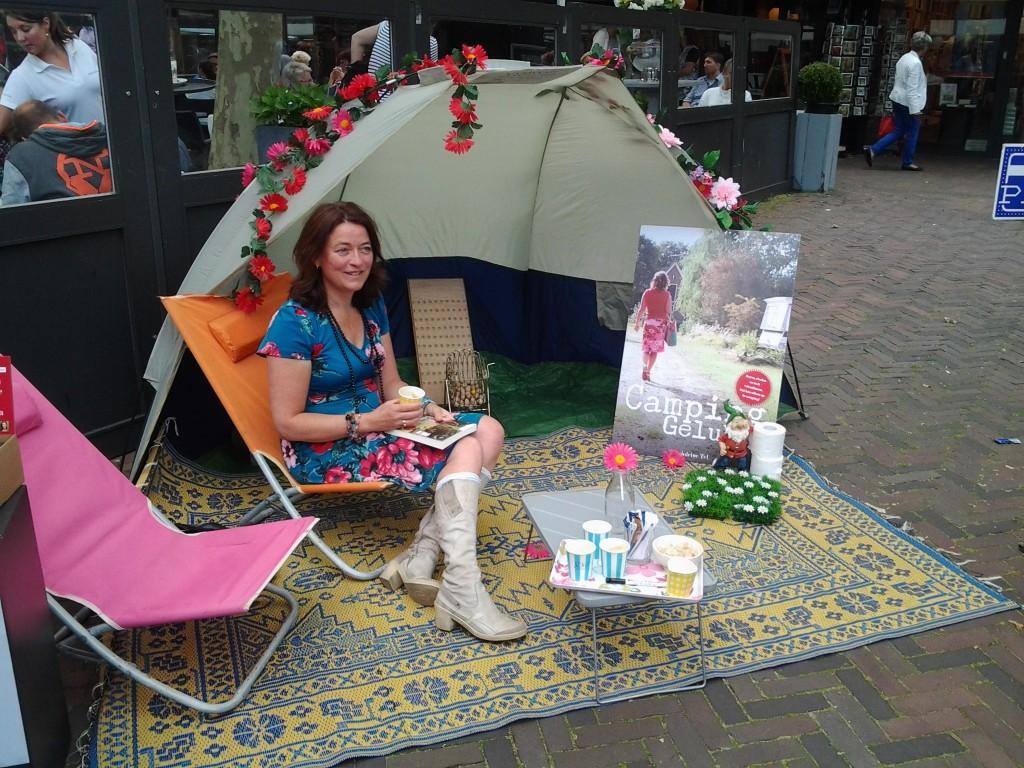 Boekpresentatie Campinggeluk bij Blokker, Heemstede