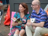 Presentatie Campinggeluk bij Boekhandel Blokker Heemstede