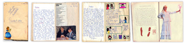 Mijn eerste tijdschrift maakte ik op tienjarige leeftijd: Sinderella