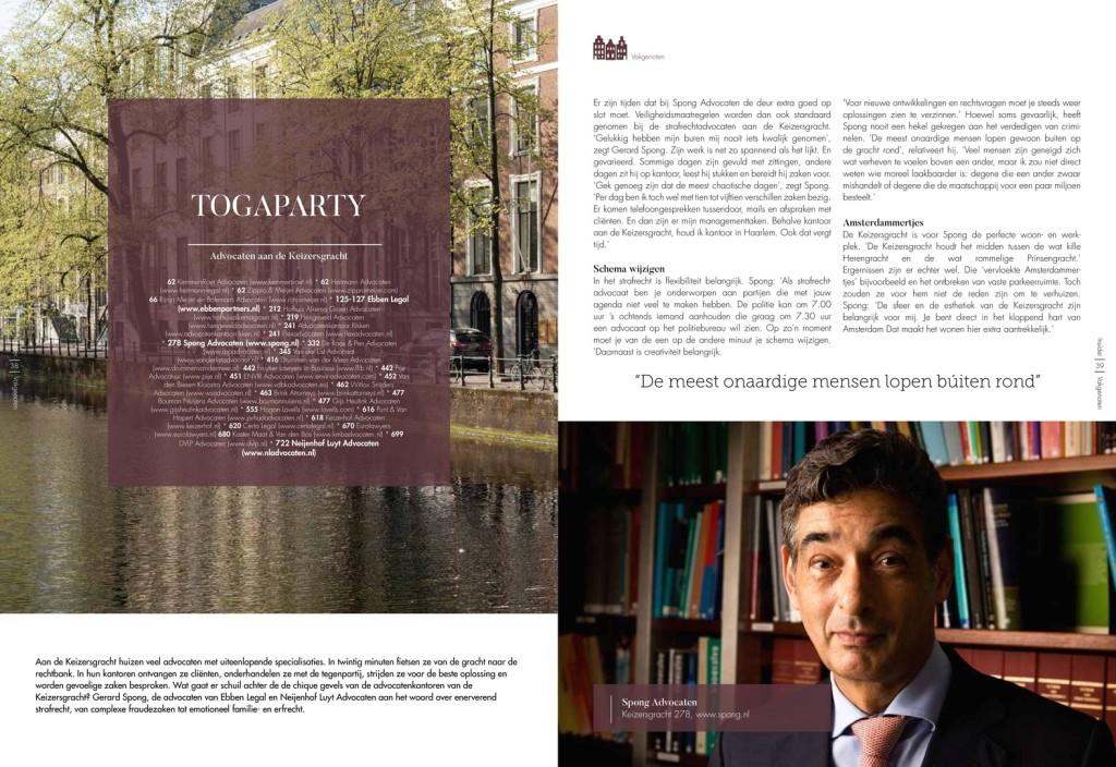 Insider Magazine advocaten Keizersgracht