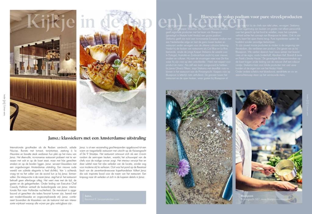 Insider Magazine dineren gracht