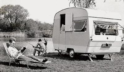 Luieren voor de caravan