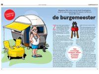 Typische campinggast: de burgemeester