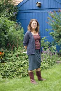Marjoleine Tel houdt van tuinieren met haar favoriete laarzen aan